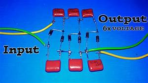 Make A Voltage Multiplier Curcuit  2x 3x 4x