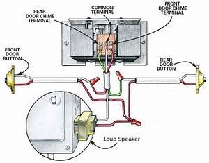 Doorbell Circuit  U2013 Electronics Project