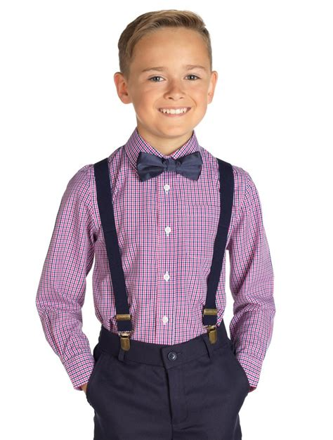 boys shirt dickie bow set page boy outfits roco