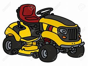 Riding Lawn Mower Drawing At Getdrawings