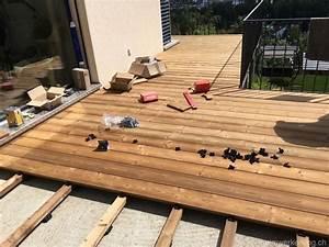 Holz Für Balkonboden : projekt holz terrasse heimwerkerking ~ Markanthonyermac.com Haus und Dekorationen