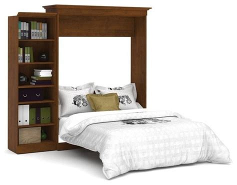 bestar versatile 92 wall bed kit tuscany brown