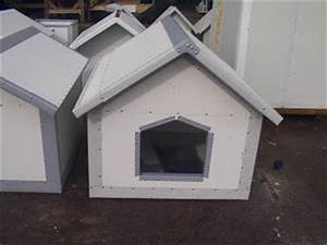 insulated metal dog houses With metal dog house