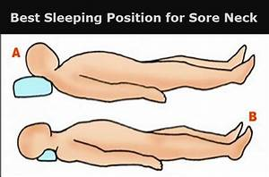 best sleeping position for sore neck body pain tips With best way to sleep with sore neck
