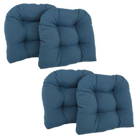 Blazing Needles Twill U Shaped Indoor Chair Cushion   Set
