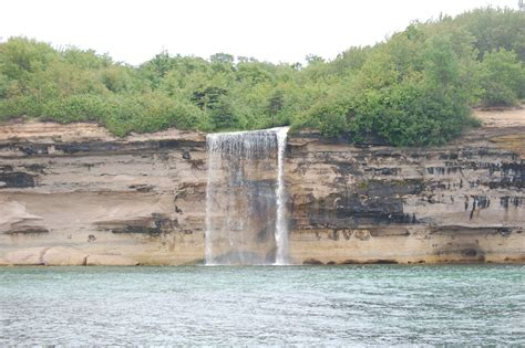 Boat Tours In Pictured Rocks by Spray Falls Pictured Rocks National Lakeshore Travel