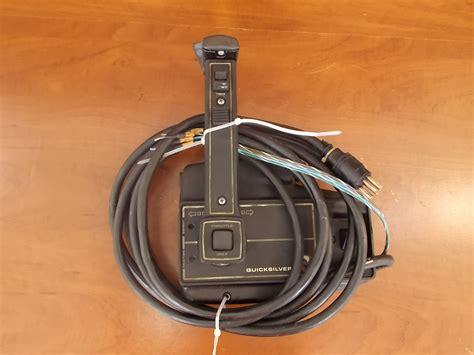 Mercury Quicksilver Control Box W/ 15 Ft Cables Trim