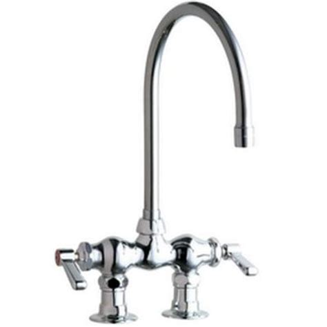 kitchen faucets chicago chicago faucets 2 handle kitchen faucet in chrome with 8 in rigid swing gooseneck spout 772