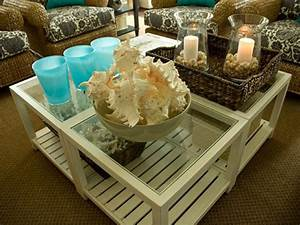 10 ways to refresh your style from hgtv hgtv With coastal coffee table decor