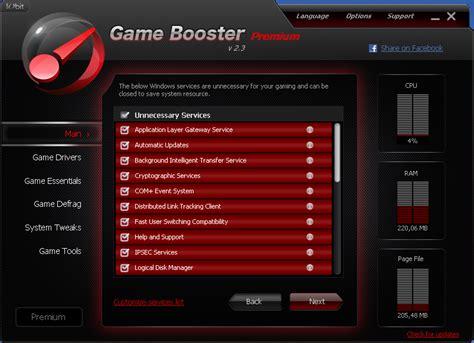 game booster premium  full version serial
