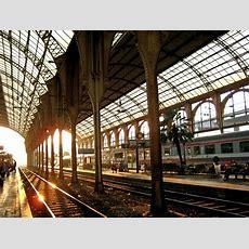 Gay French Riviera Nice Train Station  Gare De Nice Ville