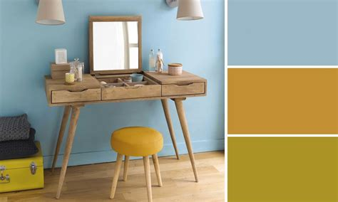 les accessoires de bureau merveilleux peinture bleu pour chambre 7 bureau bleu