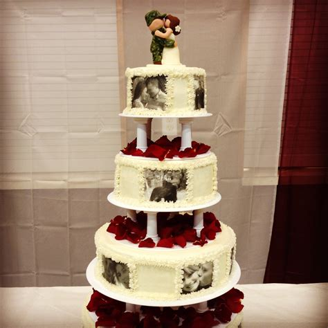 military theme wedding cake idea home