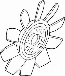 Mercury Mountaineer Engine Cooling Fan Clutch Blade