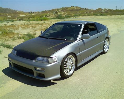 1988 Honda Civic Crx Si 18 Mile Drag Racing Timeslip 0 60