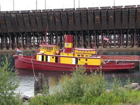Tugboat Museum by Edna G Tugboat Museum Last Coal Fed Steam Powered