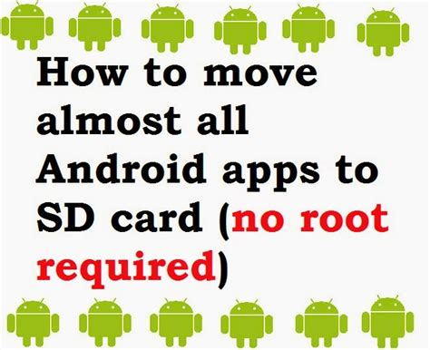 how to move almost all android apps to sd card free books store