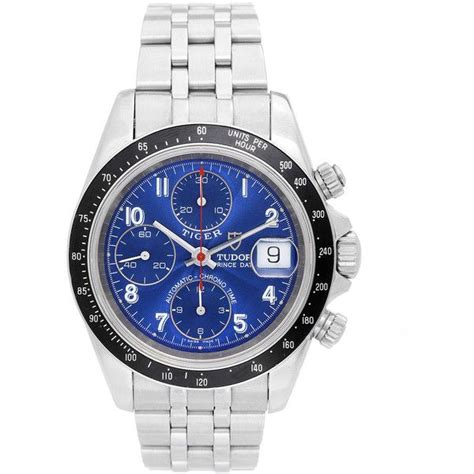 Pre-Owned Tudor Tiger Woods Prince Chronograph Stainless ...