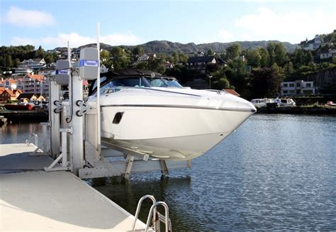 Marina Boat Lift by All About Boat Lifts Imm Quality Boat Lifts