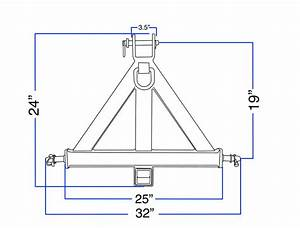 3 Point Hitch Dimensions Diagram