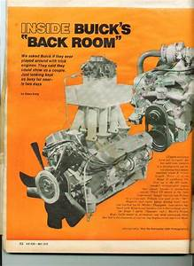Buick Experimental Engines