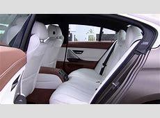 Gorgeous interiour of BMW 640i Gran Coupé Individual new