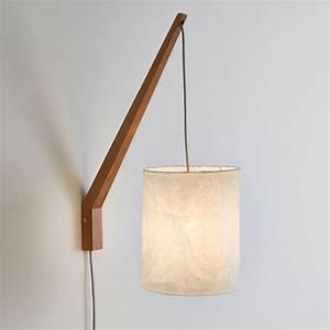 Lampe Chevet Murale : fabriquer une lampe de chevet en bois maison design ~ Premium-room.com Idées de Décoration