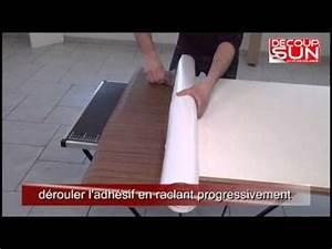 Recouvrir Plan De Travail Cuisine Adhesif : pose de kit film adh sif d co sur une porte d 39 int rieur ~ Dailycaller-alerts.com Idées de Décoration