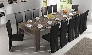 Console Extensible 14 Personnes : table extensible en 3 couleurs groupon ~ Teatrodelosmanantiales.com Idées de Décoration