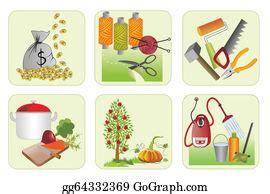 Home Economics Clip Art - Royalty Free - GoGraph