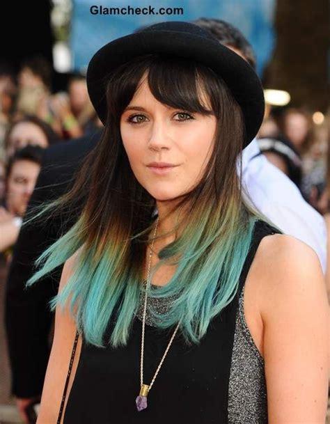 Best 25 Green Hair Streaks Ideas On Pinterest Streaks