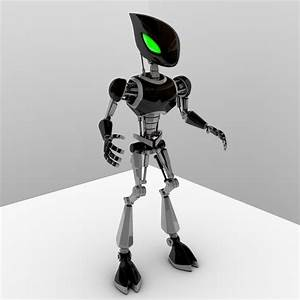 Cpkb Robot Rigged 3d Model
