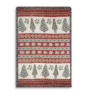 holiday christmas topiaries throw blanket bed bath beyond