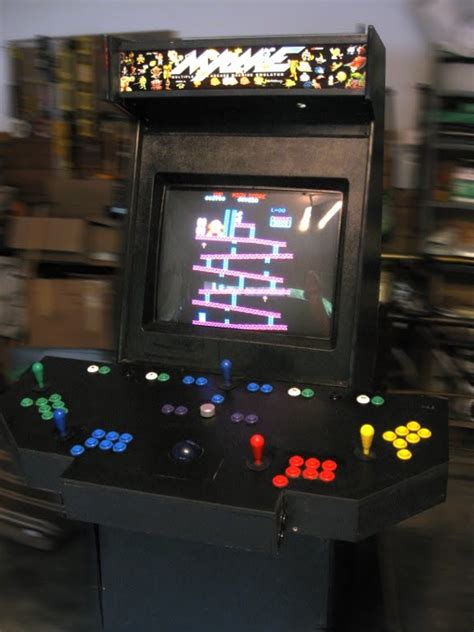 Mame Arcade Cabinet Diy by Fifty Outs Everything In A Box Mame Arcade Cabinet