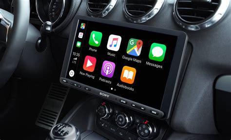 Sony New Carplay Android Auto Head Unit Has Huge