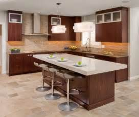 island stools kitchen contemporary kitchen design with functional brown kitchen island and stylish bar stools design