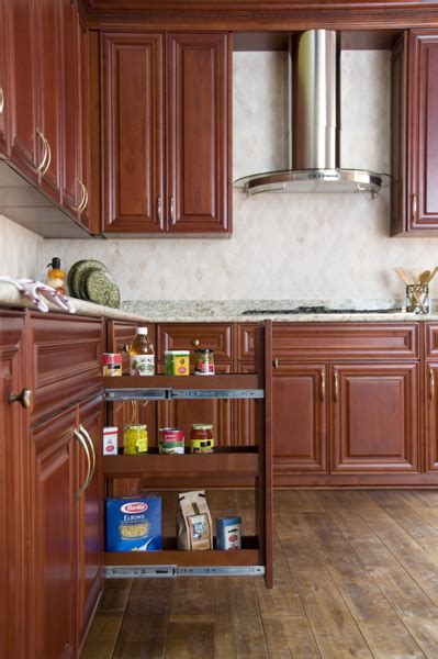 Wholesale Coffee Maple Cabinets Full Overlay Doors  Ace