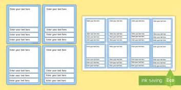 blank top trumps cards teacher