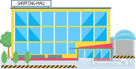 Mall Clipart Shopping Arcade Clipart Clipground