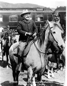 Theodore Roosevelt On Horse