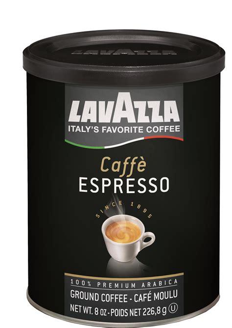 Amazoncom  Lavazza Caffe Espresso Ground Coffee Blend