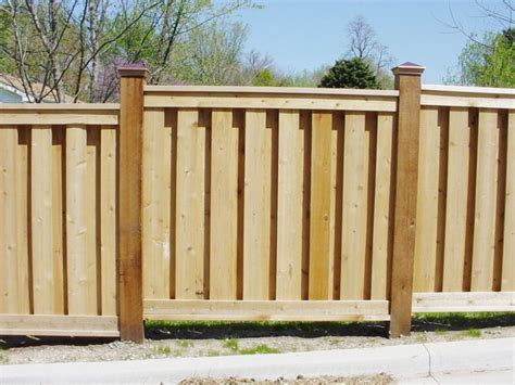 Unique And Attractive Wooden Privacy Fence Panels
