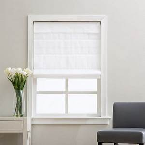 arlo blinds cloud white cordless fabric roman light With cordless cloth blinds