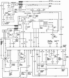 1985 Ford F150 Alternator Wiring Diagram