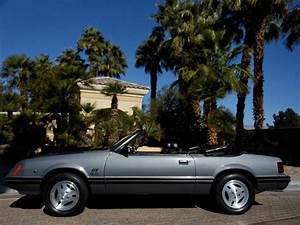 No Reserve 1983 Ford Mustang Gt 5 0 Convertible 1 Owner