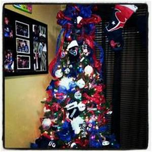 Houston Texans Christmas Tree