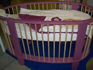 Lit Rond 160x200 : lit bebe rond ~ Teatrodelosmanantiales.com Idées de Décoration