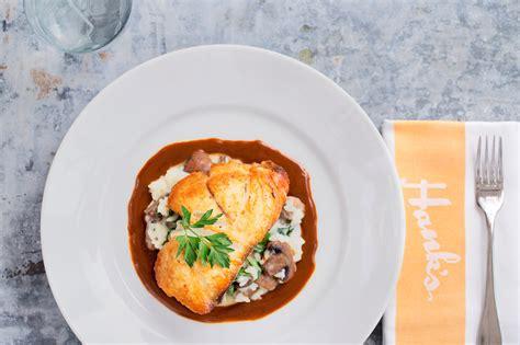 restaurants charleston grouper seafood roast mushroom goat cheese spinach risotto balsamic hank tomato butter brown harper notebook shane christopher