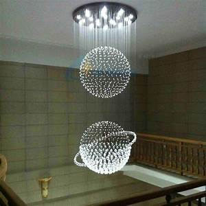 Globus Als Lampe : 7 lampen kristall pendelleuchte led moderne leuchten h ngen lampe globus pendelleuchte f r ~ Markanthonyermac.com Haus und Dekorationen