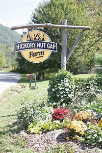 Hickory, Nut, Gap, Farm, Entrance, Dressed, Up, For, Fall